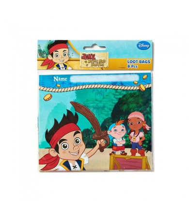 Jake and the Neverland Pirates Loot Bags - 371288